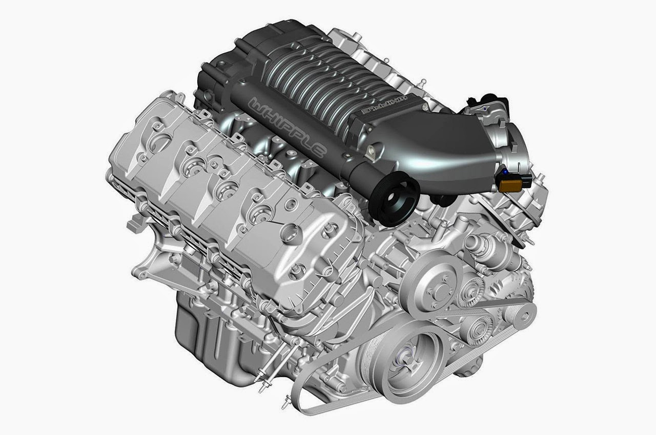 2015 Mustang supercharger system