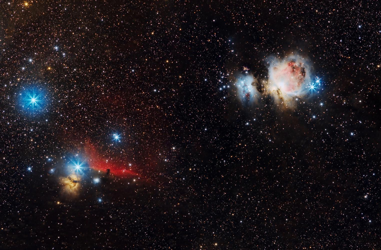 IC 434 - Messier 42- NGC 1977