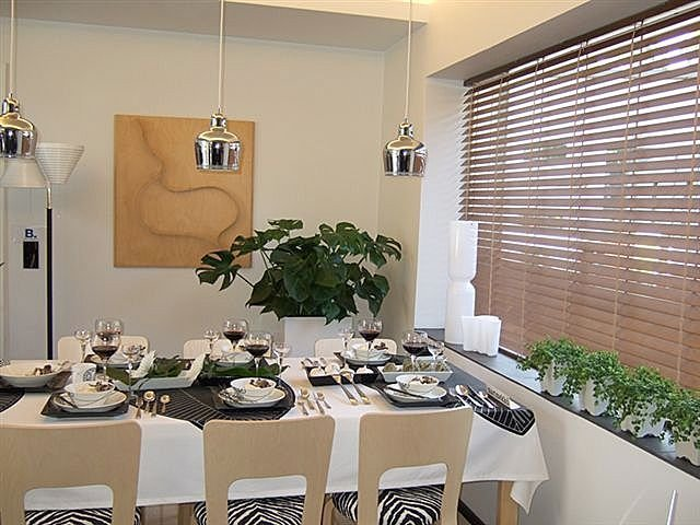 Casa estilo putumayo - Cortinas venecianas madera ...