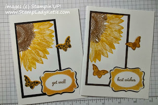 card made with Stampin'UP!'s Bitty Butterfly Punch and Papillon Potpourri Stamp Set