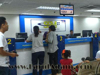 Mendaftar Perniagaan Dengan SSM di UTC Puduraya