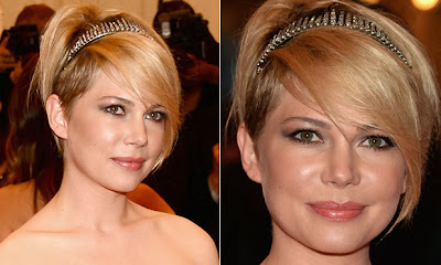 Michelle Williams penteado