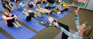 Yoga In Schools In Encinitas, Calif