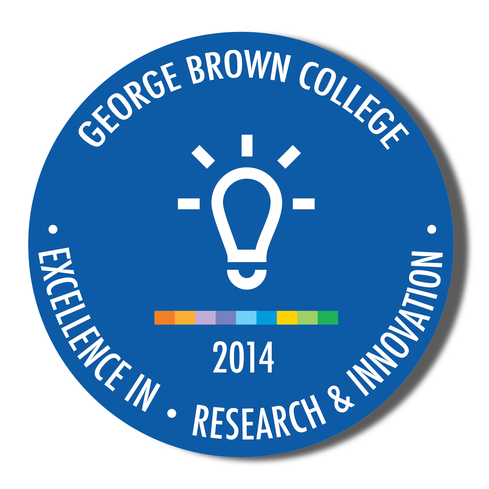 George Brown College Excellence in Research and Innovation digital badge