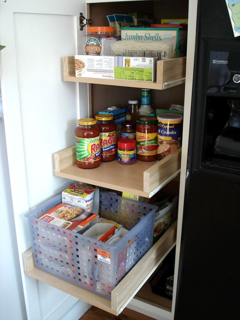 Slide Out Baskets For Kitchen Cabinets