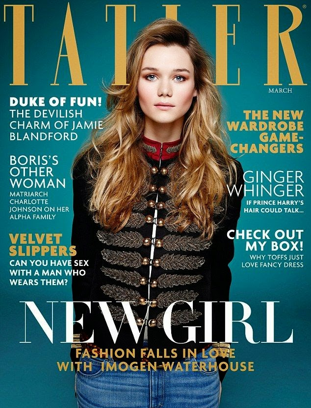 Fashion Model: Imogen Waterhouse for Tatler