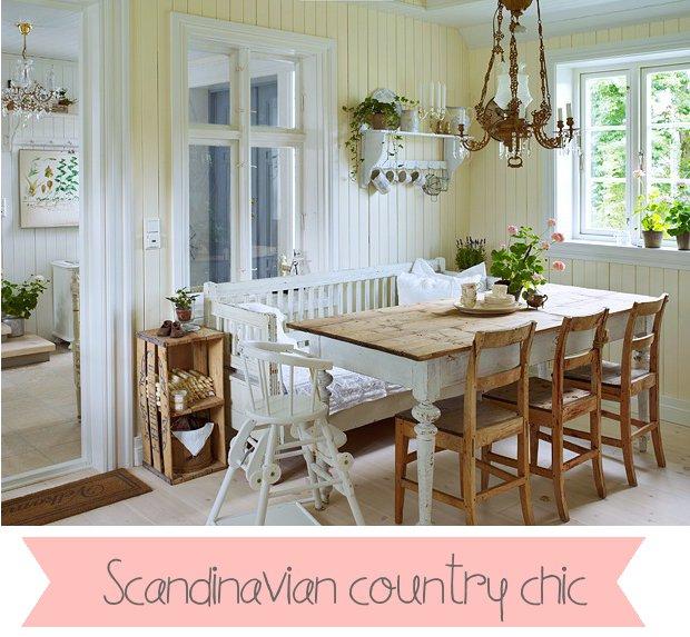Scandinavian country chic