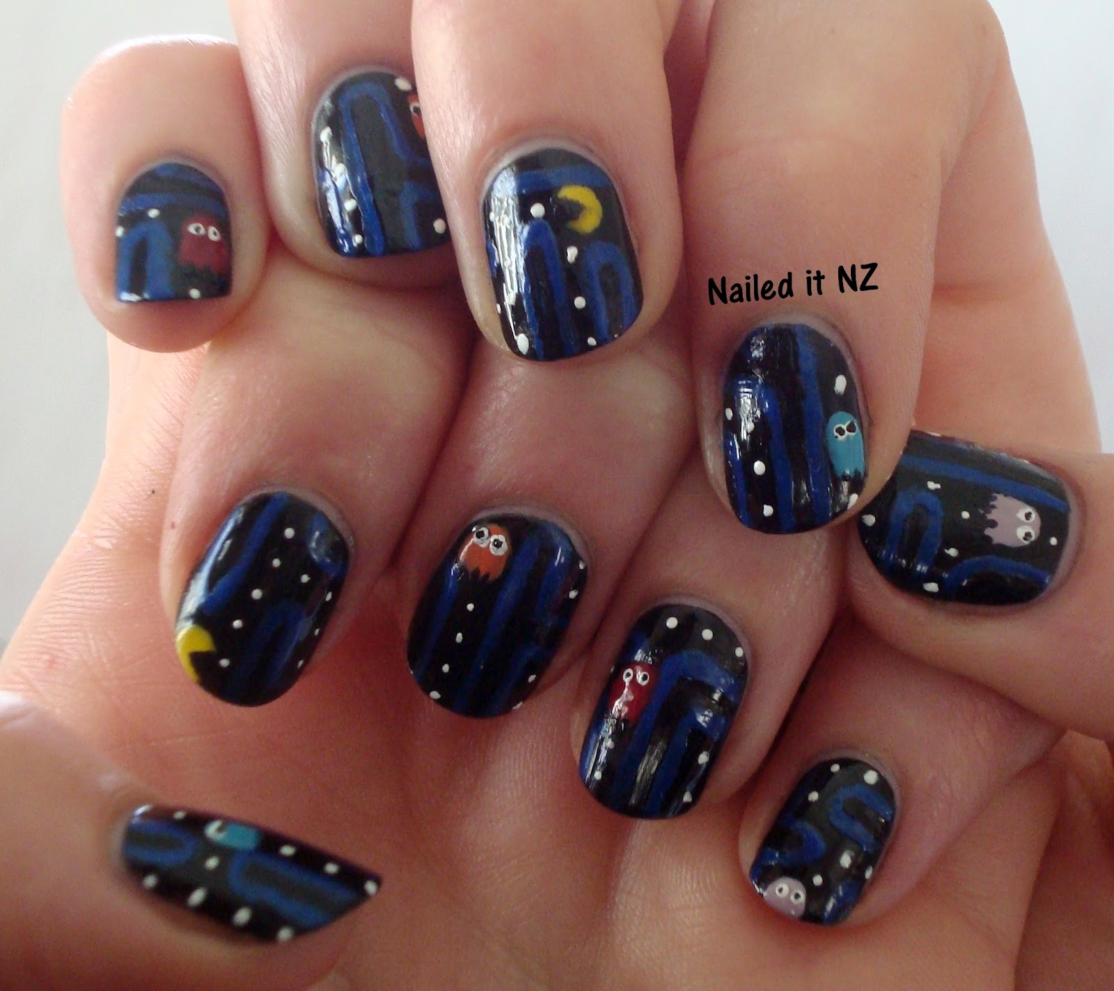 Pacman nails unfortunately when i returned home to the internet beautiful beautiful internet i quickly found out i am definitely not the only one doing it prinsesfo Image collections