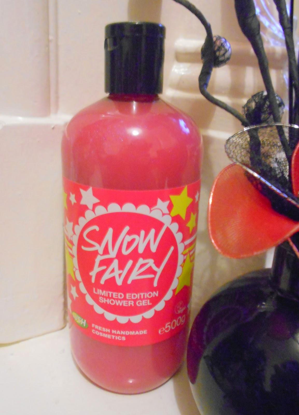 Lush - Snow Fairy Limited Edition Shower Gel