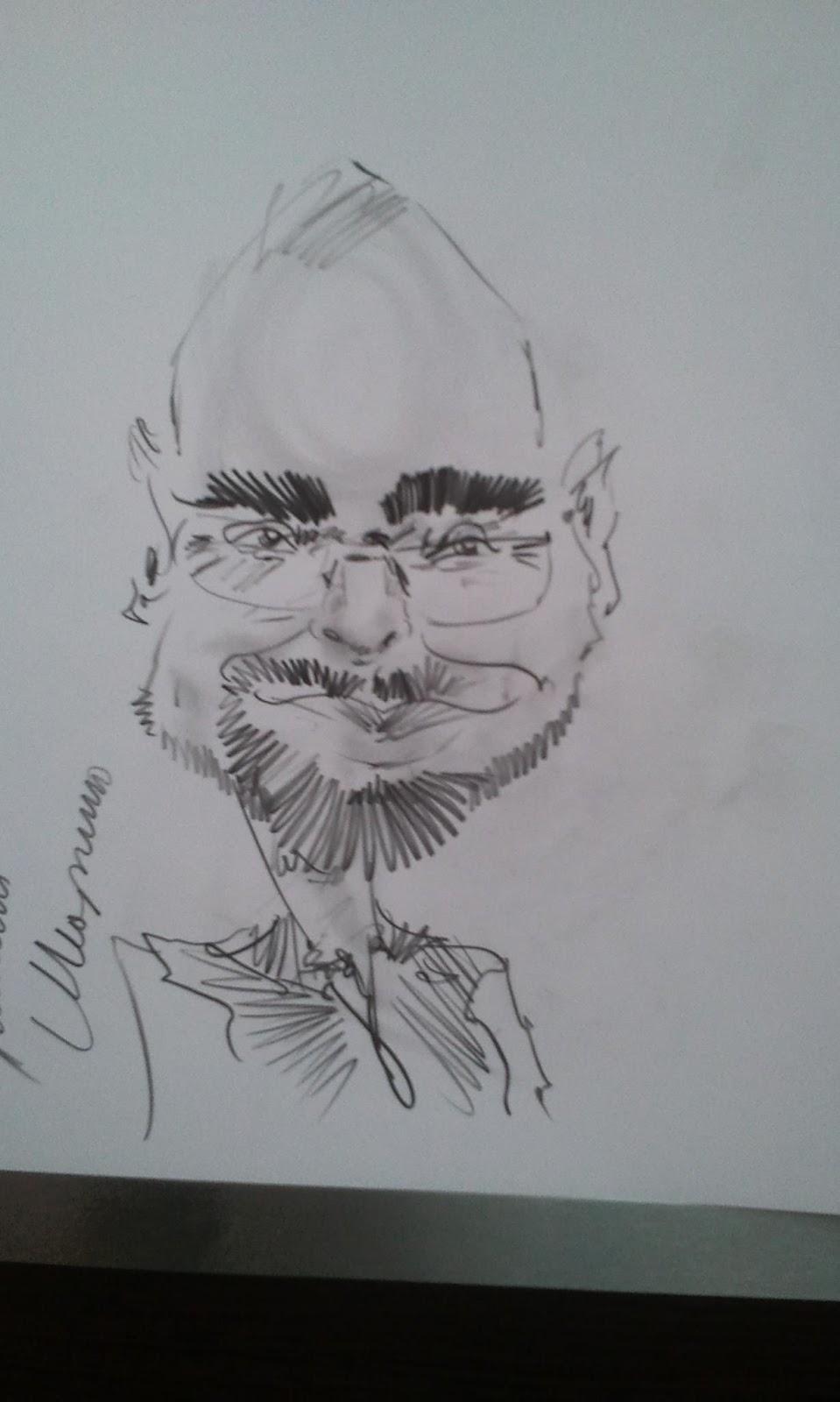 Портрет Володи Пронина. Характер схвачен очень точно ;)