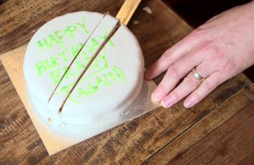 You've Been Cutting Cake The Wrong Way Your Whole Life. Here's How To Cut It According To Science