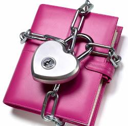 diary pink ku