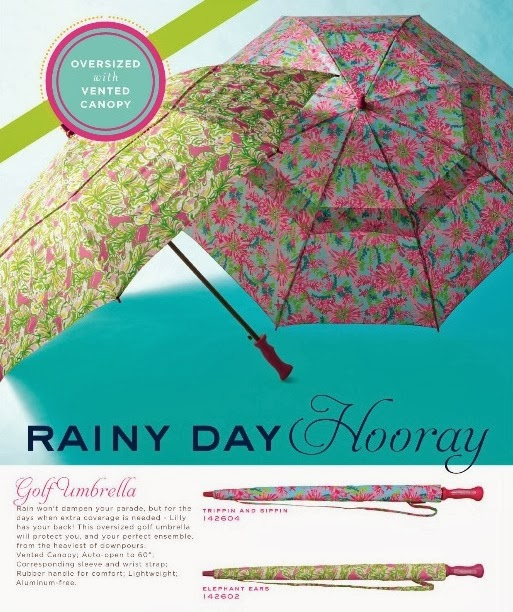 lilly pulitzer golf umbrella lifeguard press