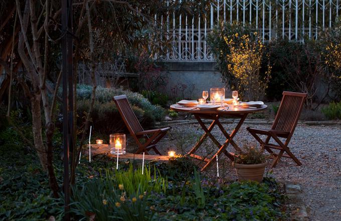 table jardin bois 4 places