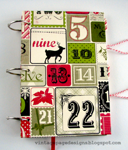 handmadechristmas scrapbook