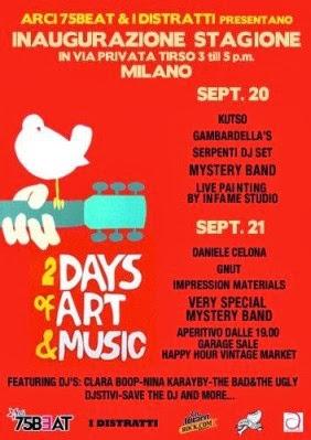 Cosa fare a Milano sabato 21 settembre: Daniele Celona in concerto al 75 Beat