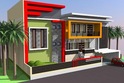 Jasa Desain Rumah 2D 3D minimalis modern