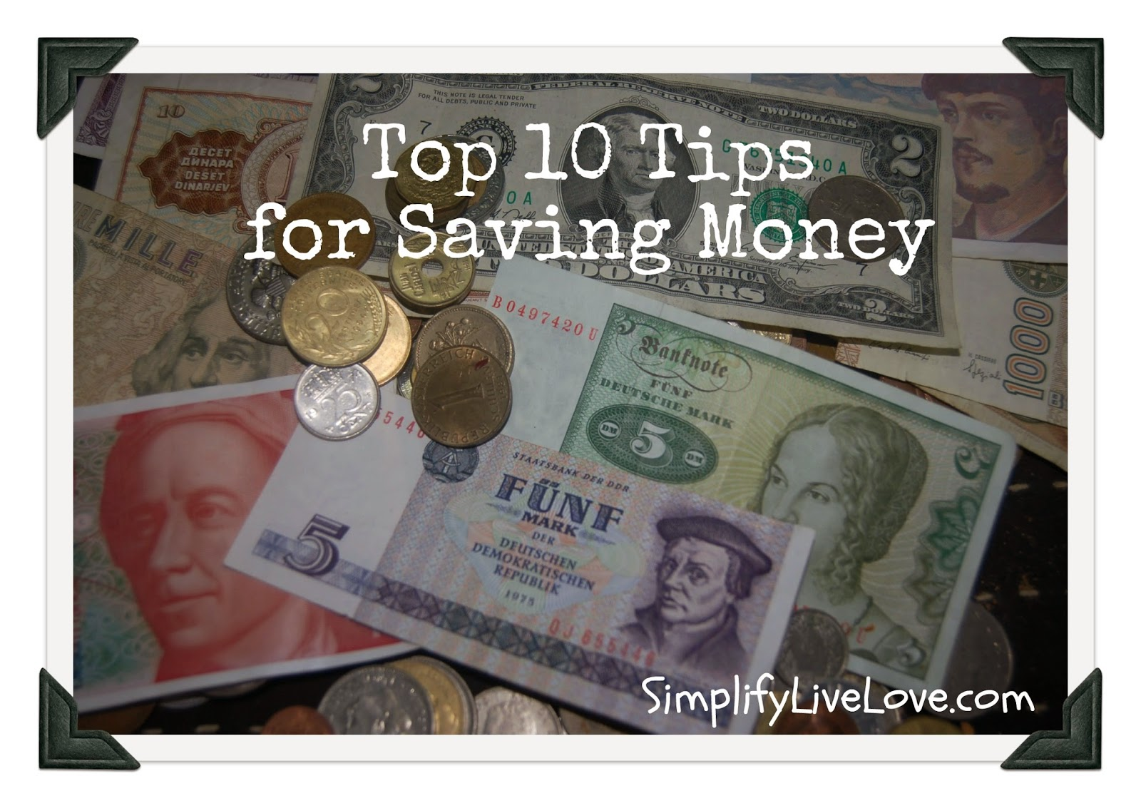 top 10 tips to save money on food