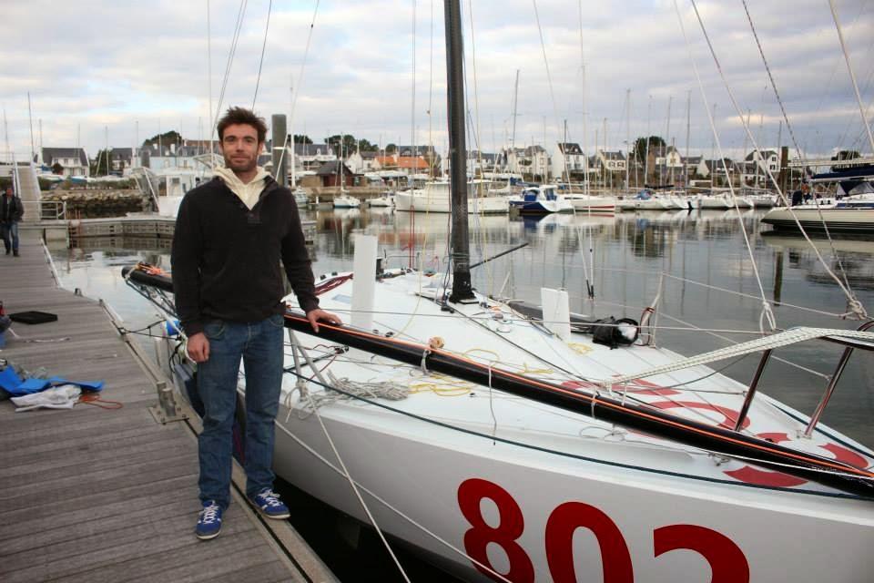 Le proto 802 de Clément Bouyssou mis à l'eau. Cap sur 2015 !