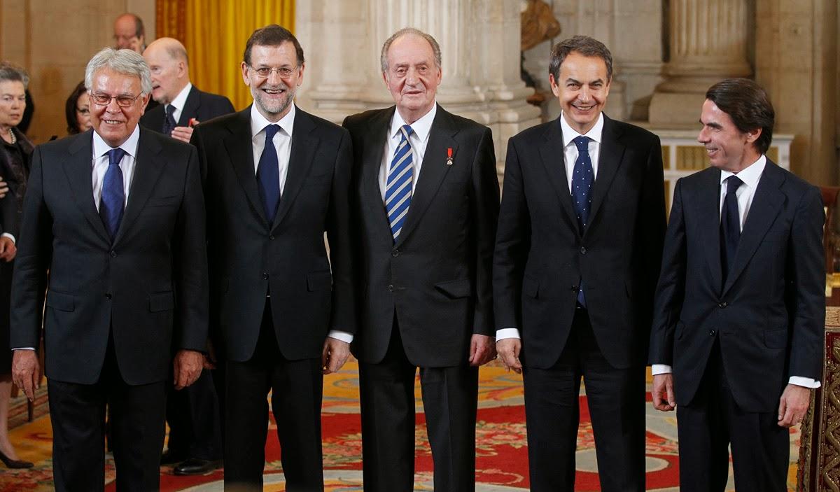 Presidentes de la Democracia en España