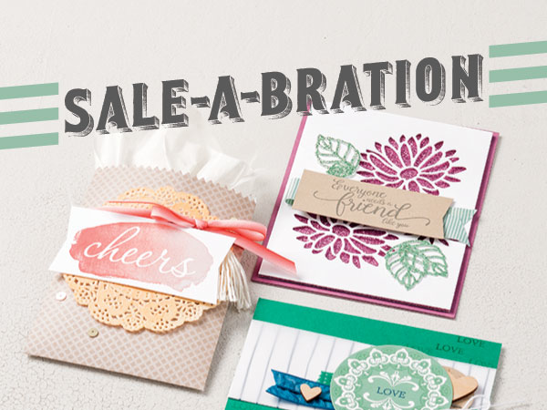 3 NEW Sale-a-bration Items