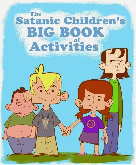 libro para colorear satánico