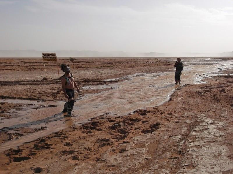 El desierto inundado