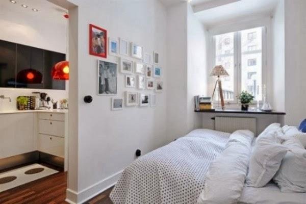 mendesain kamar tidur yang sempit sederhana desain rumah
