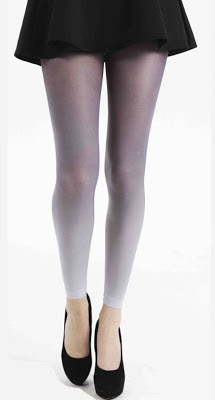 pamela mann ombre footless tights
