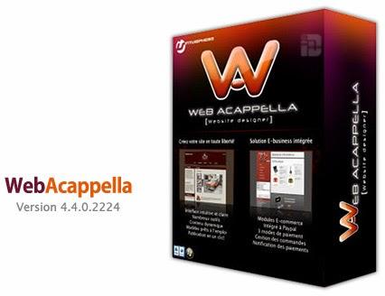 Desain Website dengan Web Acapella