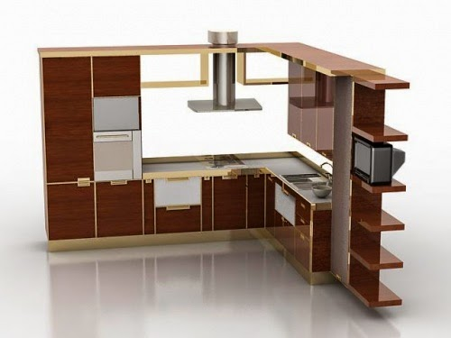 3D Kitchen Decorating Ideas
