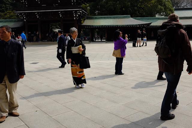 Meiji-jingu Harajuku Tokyo Japan Kimono traditional