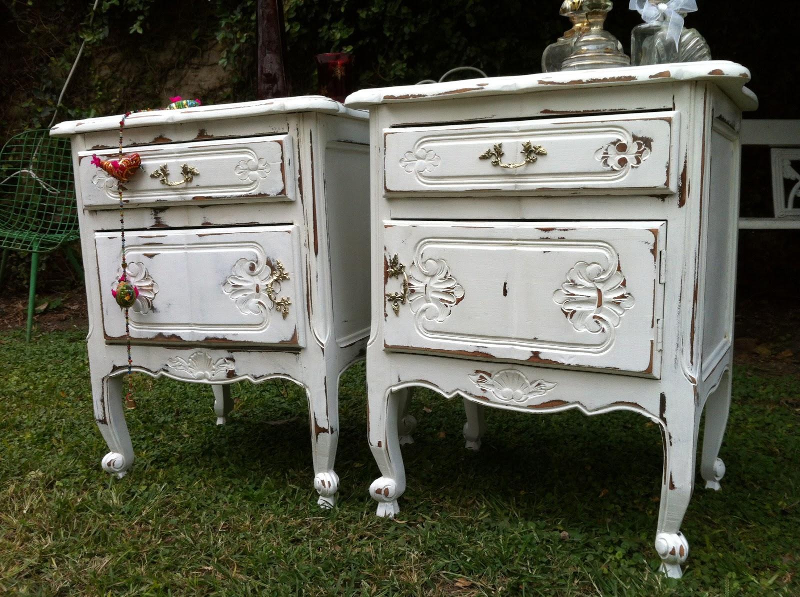 vintouch muebles reciclados pintados a mano mesas de