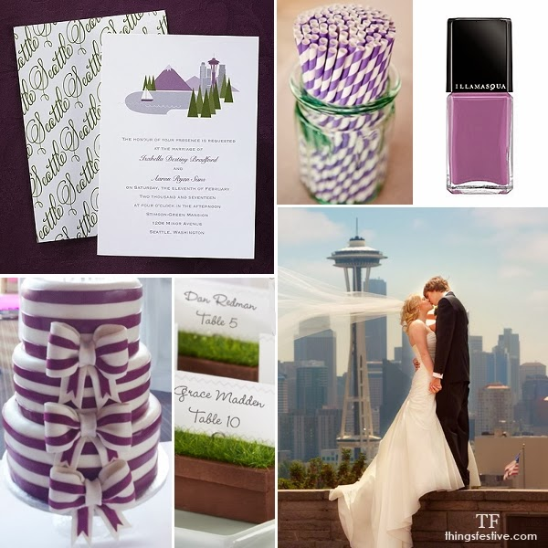 Pantone Radiant Orchid Wedding