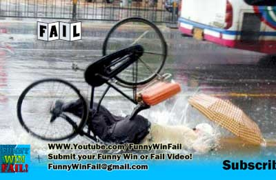 Epic Fail! Bicycle Crash Face First!
