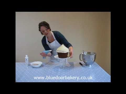 How To Decorate Giant Cupcake