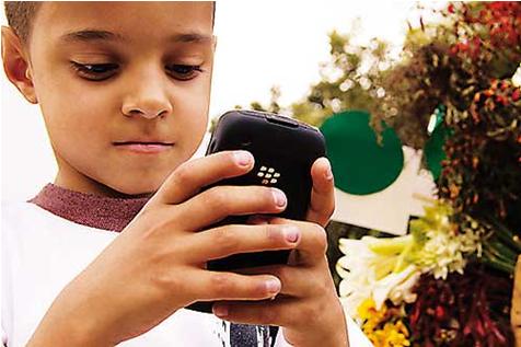 whatsapp y los niños