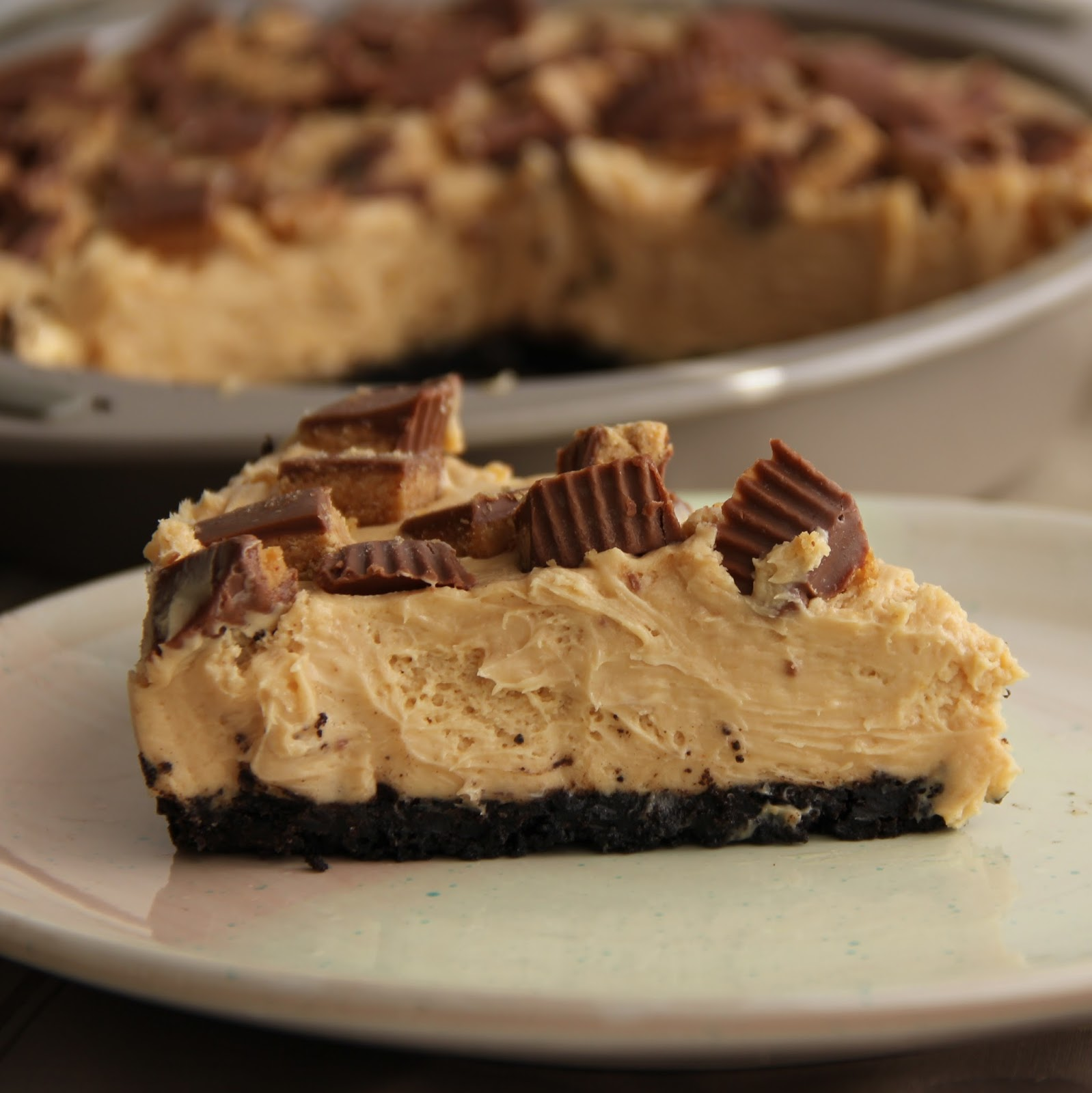 Peanut Butter Cup Pie (adapted from Cinnamon Spice & Everything Nice)