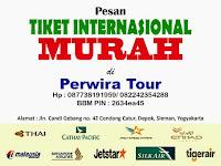 Perwira Tour menjual tiket Domestik Indonesia dan Internasional