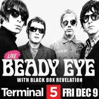 Beady Eyes Plays Terminal 5 on Dec. 9th - Tickets Still Available
