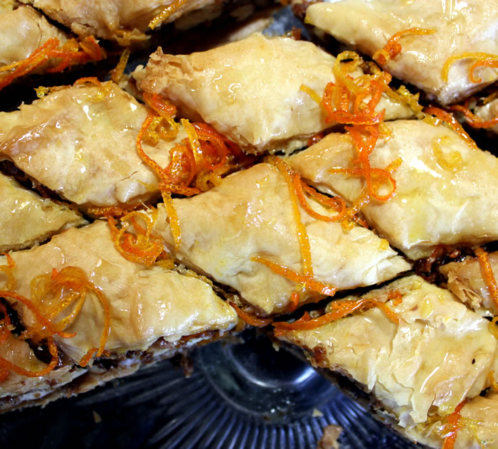Baking :: Walnut + Almond Baklava, redolent with Citrus Syrup ...