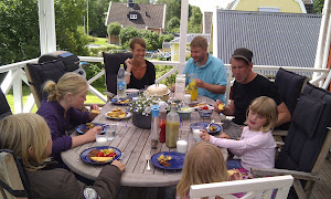 Family visit from Skåne (south Sweden)