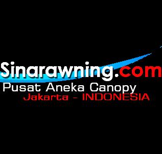 Canopy kain tenda membrane awning gulung, Sinar Awning Jakarta