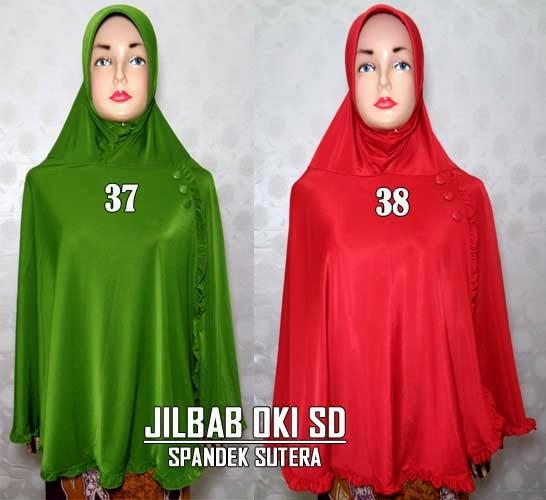 Jilbab Bergo Syari Cantik Terbaru Modern Modis Amanda