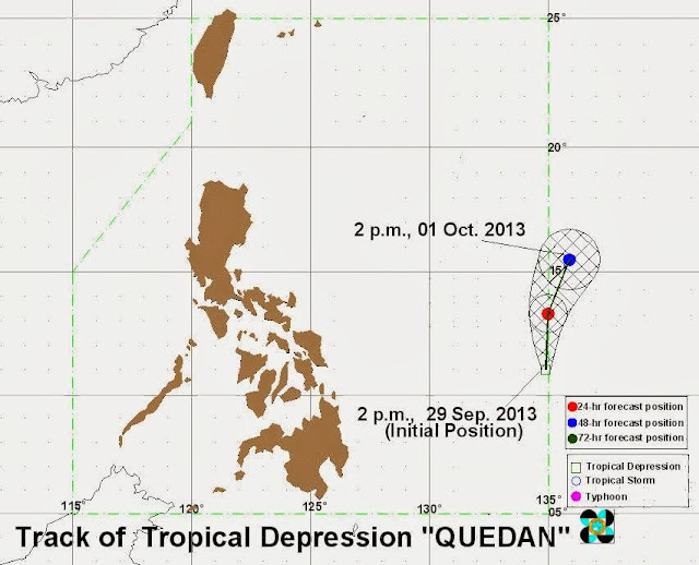 Typhoon Quedan September 2013