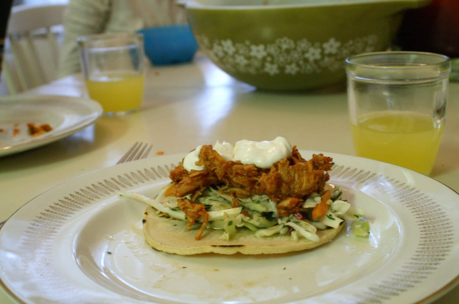 Graceful Oven: Pulled Pork Tacos with Tangy Coleslaw