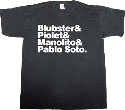 p2p pablo soto peer to peer useless copyright discografica recording company david bravo t-shirt ephemeral-t-shirts