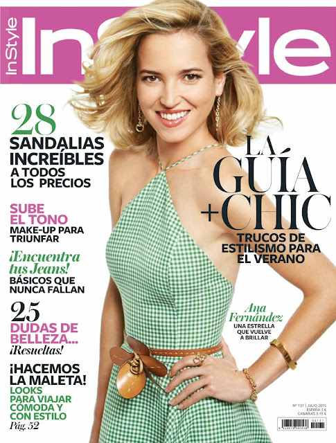 Actress @ Ana Fernandez - InStyle Spain, July 2015