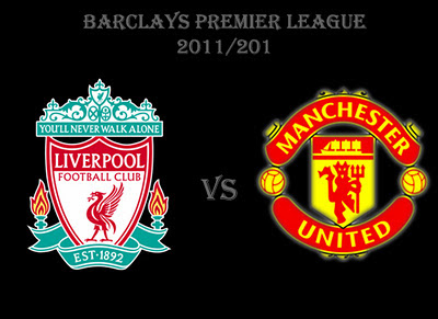 Liverpool vs Manchester United Barclays Premier League