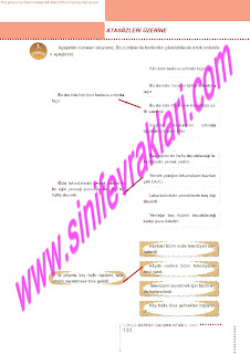 6.Sinif  Turkce Doku Yayinlari Ogrenci Calisma Kitabi Sayfa 131